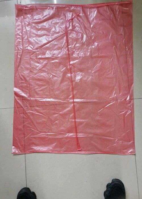 Large 100% Water Soluble Laundry Bags Disposable For Hospital / Hotel