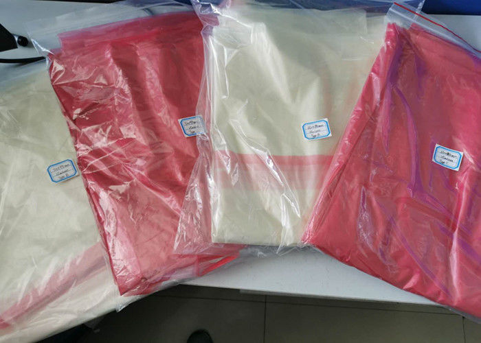 Anti-cross infection hot water soluble strip laundry bag